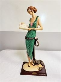 """Giuseppe Armani """"Lady with Book / The Book"""" #384 - Limited Edition 2962/3000"""