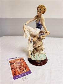 "Giuseppe Armani ""Sabrina"" #110 - 1997 The Society Member's Figurine"