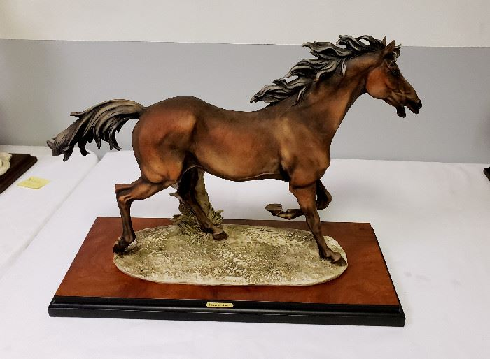 "Giuseppe Armani ""Running Horse"" #909 - Limited Edition 303/7500"