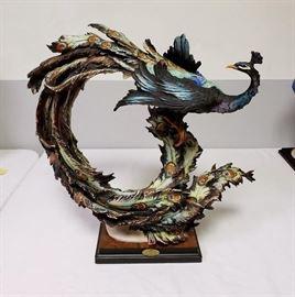 "Giuseppe Armani ""Peacock"" #458 - Limited Edition 3561/5000"
