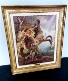 """Giuseppe Armani """"The Embrace"""" Artist Proof framed artwork - with Certificate of Authenticty and box"""