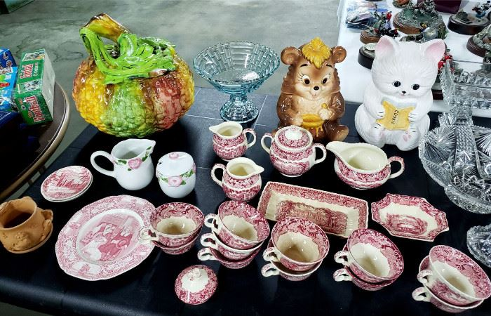 Mason's Vista dishes, cookie jars, Italian pottery, and more!