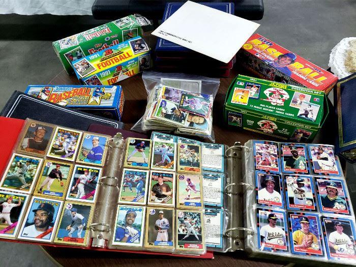 Lots of baseball / football cards!