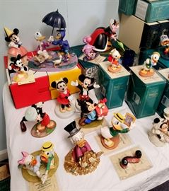 Huge collection of Walt Disney Classics Collection figurines - and many other Disney collectibles