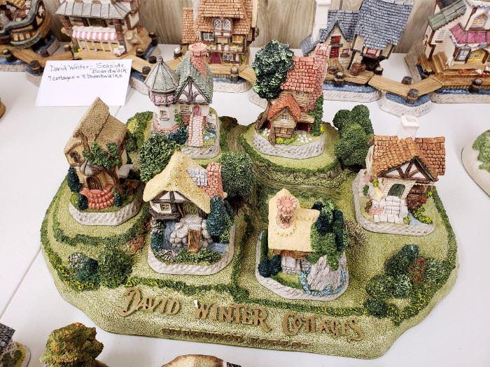 "David Winter ""Sherwood Forest"" set"