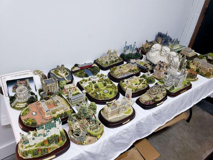 Fraser Creations miniature models of castles / buildings