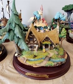 """Walt Disney Classics Collection """"Enchanted Places - Snow White - Seven Dwarf's Cottage"""" - we have 2 of these"""