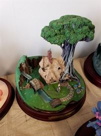 """Walt Disney Classics Collection """"Enchanted Places - Sleeping Beauty - The Woodcutter's Cottage"""""""