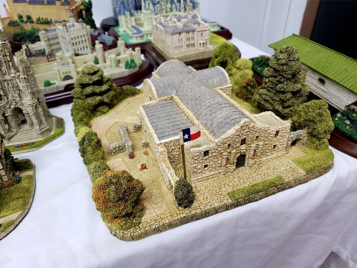 """Fraser Creations - The American Landmark Collection - """"The Alamo"""""""