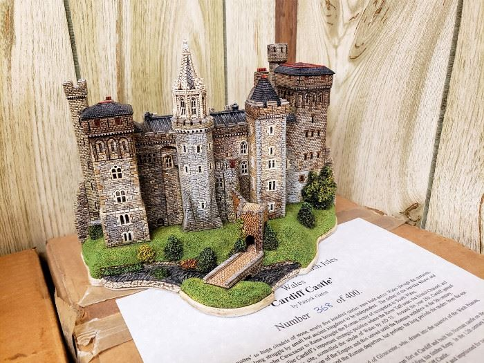 """JP Editions - The Castles of Wales Collection - """"Cardiff Castle"""""""