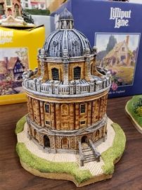 """JP Editions - The University Towns Collection - """"Radcliffe Camera - Oxford"""" - signed on bottom by artists"""