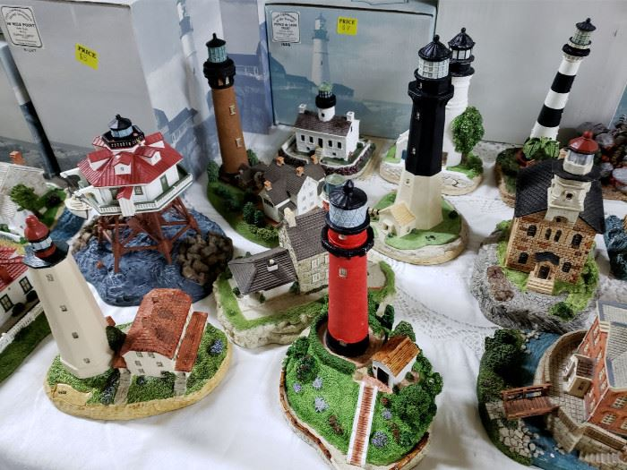 Harbour Lights lighthouses