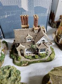 """Lilliput Lane - Blaise Hamlet Collection - """"Double Cottage"""""""