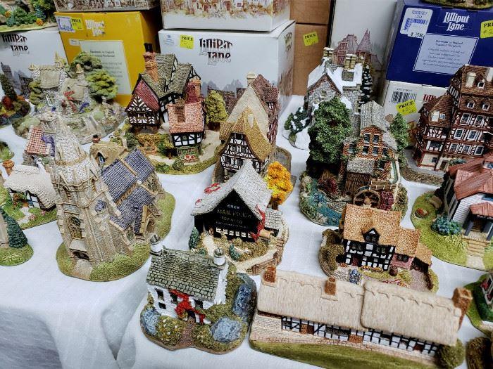 David Winter and Lilliput Lane cottages