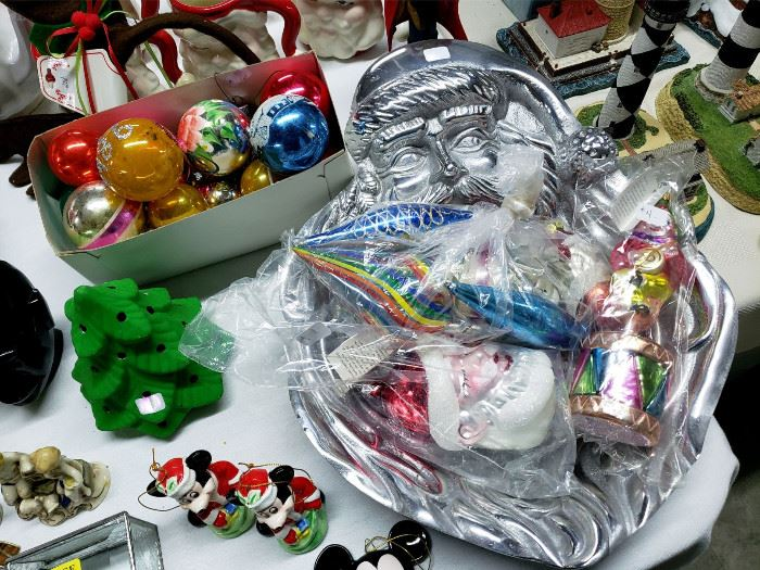 Christopher Radko ornaments, vintage Christmas, and more!