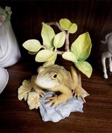 """Cybis """"American Bullfrog - Enchanted Prince"""""""