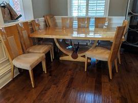 Beautiful, modern dining room
