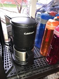CUISINART COFFEE MAKER W/STAINLESS STEEL CARAFT