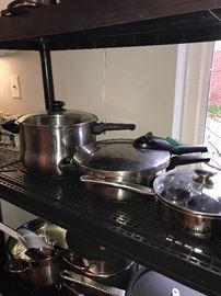 COOKWARE, POTS, PANS AND UTENSILS