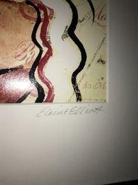 ELAINE ELLIOTT WALL ART