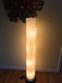 TALL ROUND FLOOR LAMP