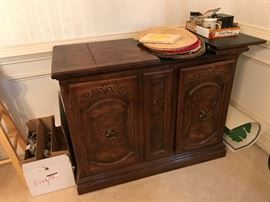 Server Buffet - matches the china displaty cabinet