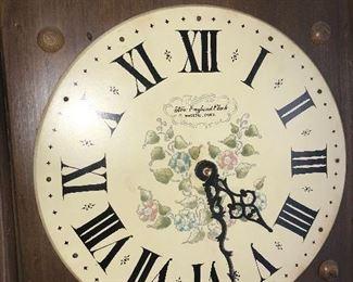 VINTAGE NEW ENGLAND CLOCK COMPANY WALL CLOCK