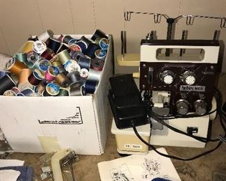 SEWING MACHINE / SEWING SUPPLIES