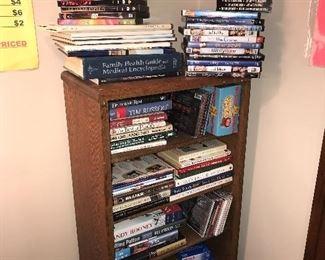 BOOKS / DVDS/ CDS