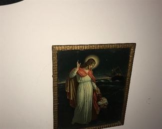 RELIGIOUS FRAMED PICTURE