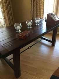 Pottery Barn. Farm table current style