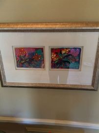 Signed art colorful and fun