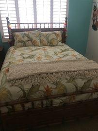 Serta Icomfort mattress and frame