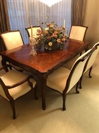 Classy formal dining set -drexel - has matching large china