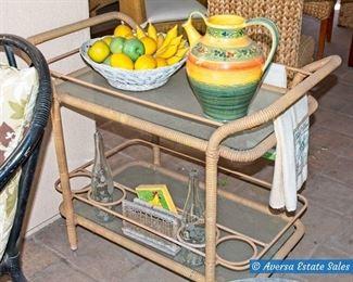 Patio Tea Cart
