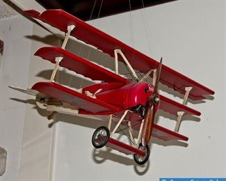 Sopwith Camel Model Plane