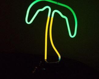NEON Palm Tree Light