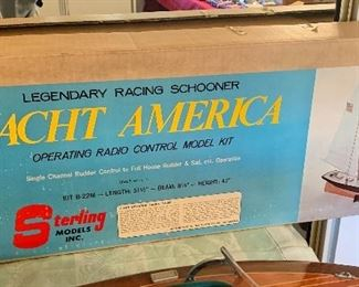 Sterling Models - Yacht America Racing Schooner