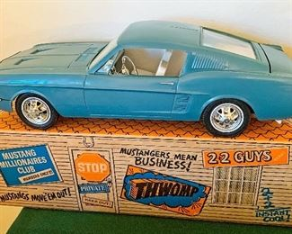 LARGE Vintage Mustang new in box