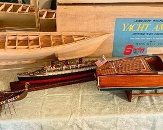 Vintage Model Ships