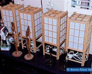 ASIAN Sojo Table Lamps