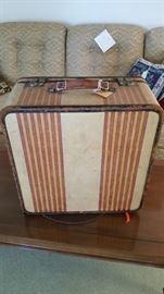 1930's Oshkosh luggage--wonderful condition