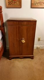 Great vintage record cabinet