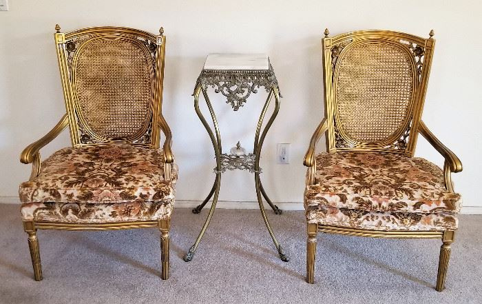 These would be wonderful as end host chairs for the dining table.