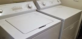 Washer and dryer for sale.