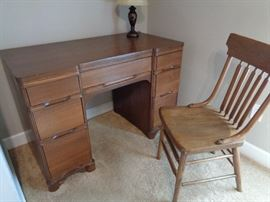 vintage desk & chair