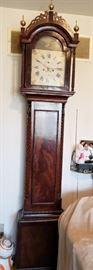 Antique Grandfather Clock, Aaron Willard Jr. (Boston)