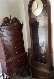 Antique clock( Gustav Becker)