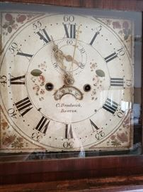 Face of C. Brodorick,  clock
