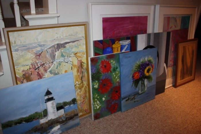 Lots of artwork